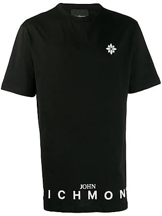 John Richmond Camiseta com estampa de logo - Preto