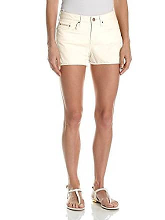 Calvin Klein Jeans Womens Garment Dyed Weekend Short, Vanilla Ice 27