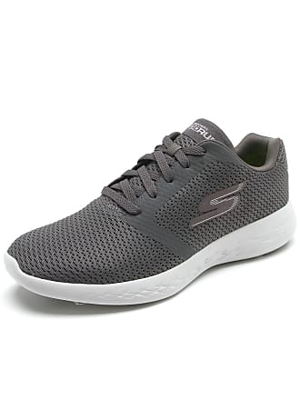 Skechers Tênis Skechers Go Run 600-Refine Cinza