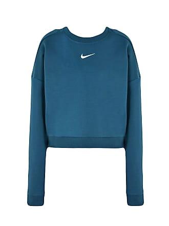b7417ce5a664 Nike DRY TOP LONG SLEEVES CREWNECK CROP - TOPWEAR - Sweatshirts