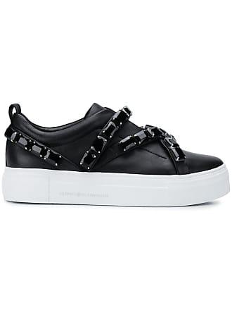 34d718656ec5 Kennel   Schmenger embellished low-top platform sneakers - Black