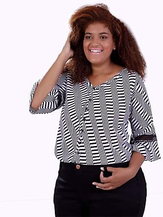 Vickttoria Vick Camisa Clari Plus Size (52)