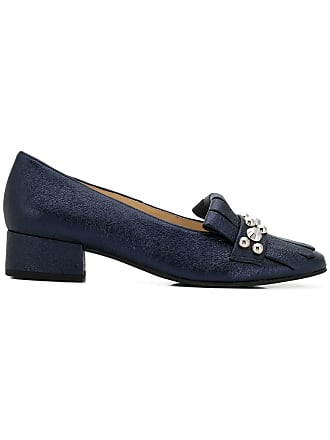 Högl studded fringe trim loafers - Azul