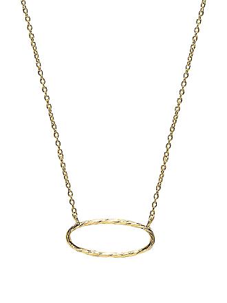 Gorjana Presley Charm Necklace in Metallic Gold