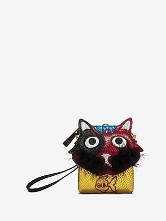 gum clutch key ring with cat