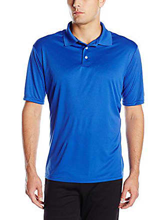 864d2db7 Hanes Mens Cool DRI Performance Polo, Deep Royal, Medium