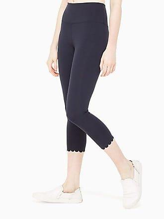 85e69c2b1a3d Kate Spade New York Scallop Crop Legging, Rich Navy - Size S