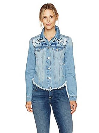 William Rast Womens Willliam Rast-Sussex Denim Jacket, Got Feelings, XL