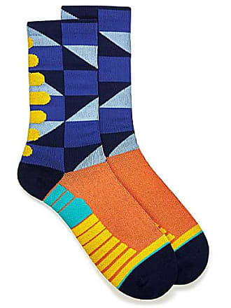 Unsimply Stitched Geometric athletic socks