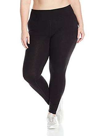 Fruit Of The Loom Fit for Me by Fruit of the Loom Womens Plus Size Graphic Legging, Black/Strength Print, 3X