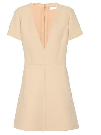 Chloé V-neck wool dress