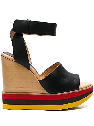 Paloma Barceló wedge sandals - Black