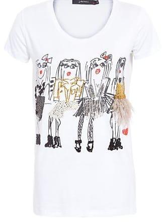 J. Chermann Camiseta Meninas Pluma J.Chermann - Branco