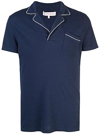 Orlebar Brown Camisa polo Donald - Azul