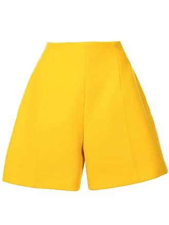 Nina Ricci fitted waist shorts - Amarelo