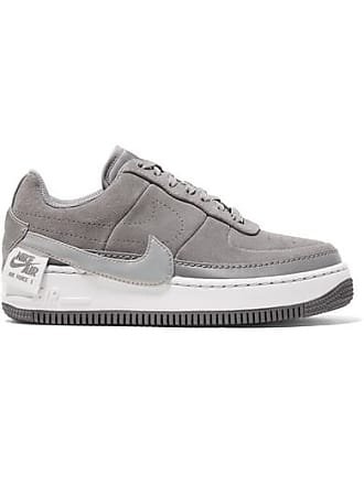 Nike Air Force 1 Jester Suede Sneakers - Gray