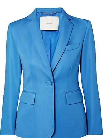 Adam Lippes Wool-blend Gabardine Blazer - Blue