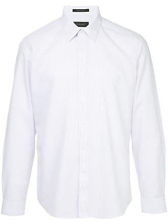 Durban Camisa listrada mangas longas - Rosa