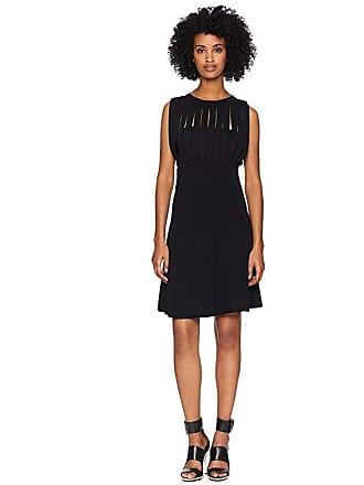 bb2a7fc8c04 The Kooples Knitted Stripe Dress (Black) Womens Dress