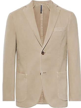 Incotex Beige Garment-dyed Cotton And Cashmere-blend Twill Blazer - Beige