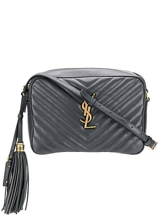 c8e3a7dcc Saint Laurent Lou matelassé leather camera bag - Grey