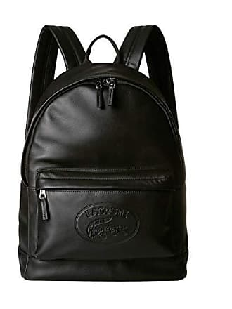 2c614a80c28 Lacoste L.12.12 Cuir Casual Backpack (Black) Backpack Bags