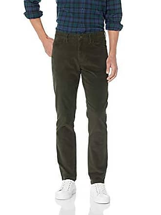 Goodthreads Mens Slim-Fit 5 Pocket Corduroy Pant, Olive, 42W x 30L