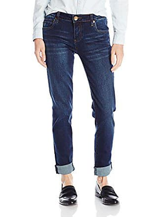 Kut from the Kloth Womens Catherine Boyfriend Jean, Easily, 0
