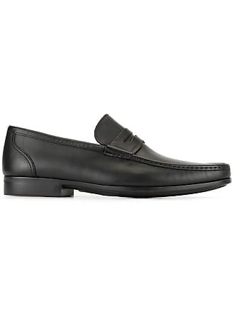 Magnanni classic flat loafers - Black