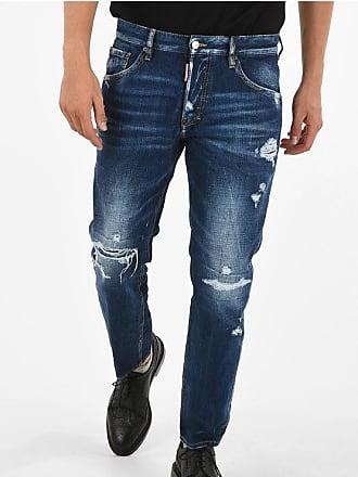 Dsquared2 17cm Stretch Denim RUN DAN Jeans size 48