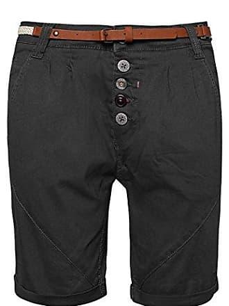 c06dcfa566c284 Sublevel Damen Chino-Shorts mit Gürtel