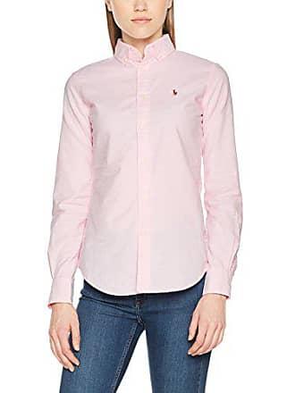 Polo Ralph Lauren NGL Kendal-Long Sleeve-Shirt, Chemise Femme, Rose ( 72e461fed40