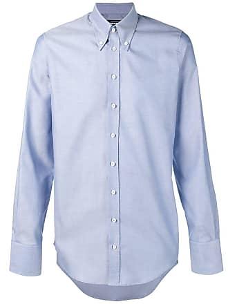 7535a2f5b6 Dsquared2 Oxford slim-fit shirt - Blue
