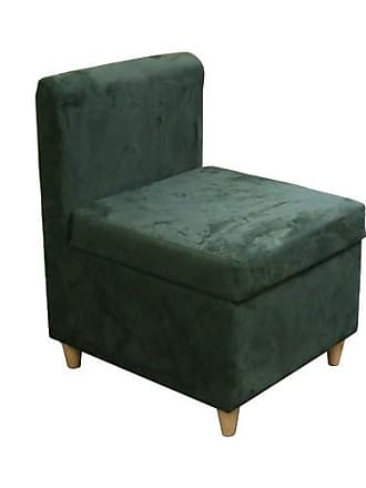 ORE 28.5H Accent Chair With Storage ( Dove Green )