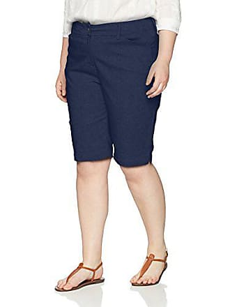 Ruby Rd. Womens Plus-Size Fly Front Super Stretch Solar Millennium Tech Short, Navy 20W