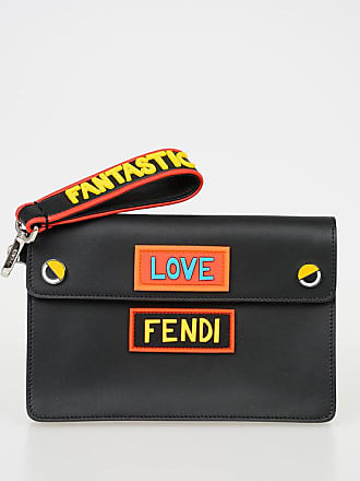 Fendi Clutch LOVE in Pelle taglia Unica bd71175a30a