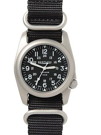Bertucci A-2T Nato Sapphire Watch Black/Nato Black Nylon 12097