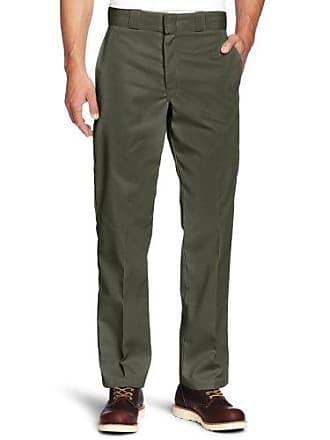 f8662aa3d144cf Dickies Mens Big and Tall Original 874 Work Pant, Olive Green, 46W x 32L
