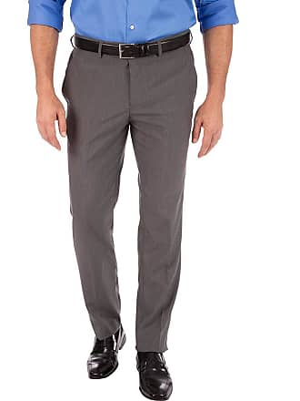 Colombo Calça Social Masculina Cinza Escuro Lisa 44337 Colombo
