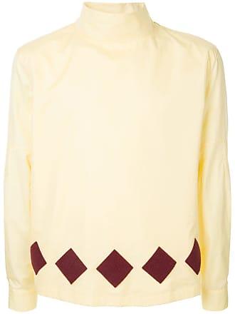 Namacheko Camisa gola alta - Amarelo