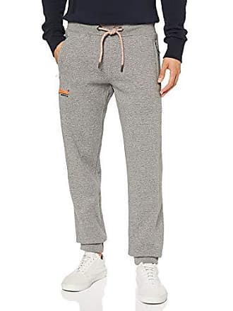 9a843aa1b49 Superdry Orange Label Cali Jogger Pantalones de Deporte, Gris (Hammer Grey  Grindle Pw8)