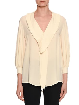 b65b39271aef17 Alexander McQueen® Long Sleeve Blouses − Sale: up to −75% | Stylight