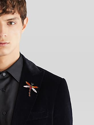Etro Dragonfly Pin, Man, Red