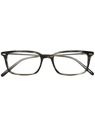 Oliver Peoples Óculos de grau Wexley - Marrom