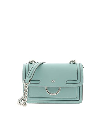 Pinko Mini Love New green crossbody bag