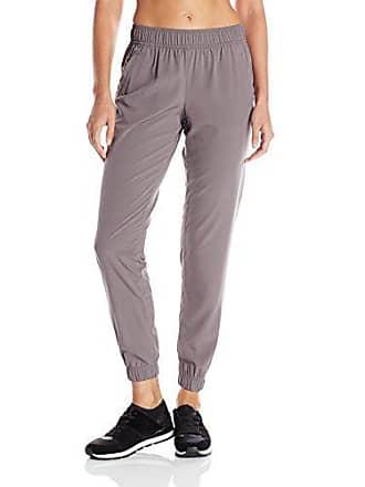 Soffe Womens Woven Studio Pant, Velvet Grey, Medium