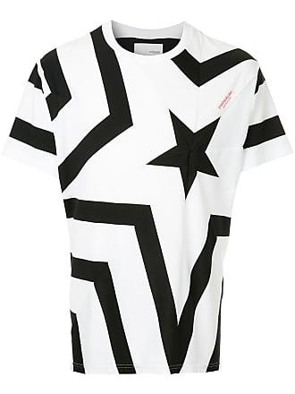 Yoshiokubo star print T-shirt - White