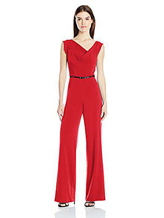 f1f0fe35cea Black Halo Womens Jackie Belted Jumpsuit