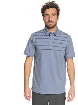 Quiksilver Mens Striped Reel Backlash Polo Shirt