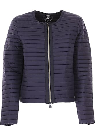 Save The Duck Jacket for Women On Sale, Navy Blue, polyamide, 2017, 4